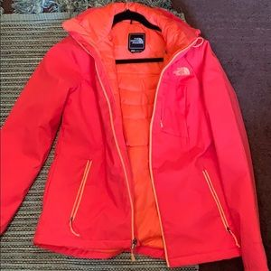 North Face Coral Rain Jacket